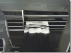 エアコンのシロッコファン掃除中