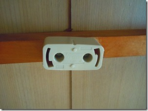 Ceiling wiring accessories