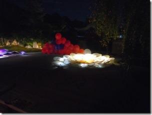 高台寺のライトアップ1