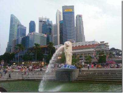 シンガポールのマーライオン
