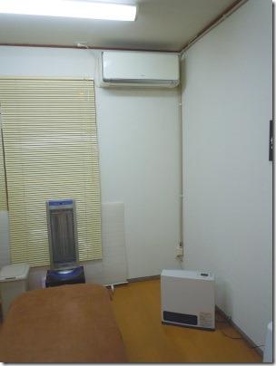店舗付き住宅賃貸、エアコン・ガスファンヒーター