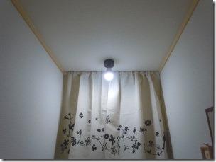 トイレのLED電球