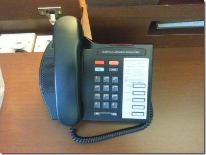 マリーナマンダリンの電話機1