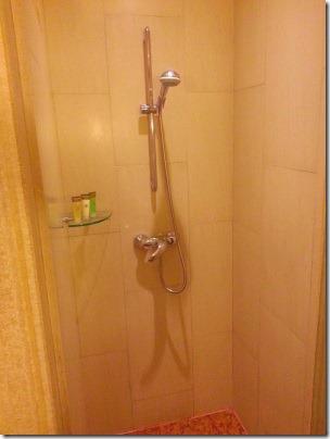 マリーナマンダリンのシャワールーム