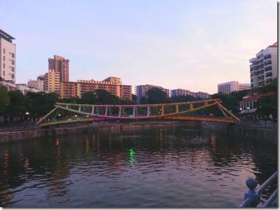 シンガポール川の夕暮れ